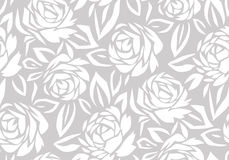 Seamless abstract rose flower background royalty free stock image