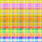 Seamless Abstract Scottish Plaid Royalty Free Stock Photo