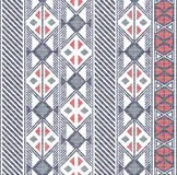 Seamless Abstract shapes pattern in ethnic pattern royalty free illustration