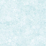 Seamless abstract snowflake background Stock Image