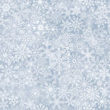 seamless abstract snowflake background Royalty Free Stock Photos