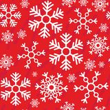 Seamless abstract snowflake grunge texture 518 Royalty Free Stock Image
