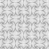Seamless abstract spiral pattern. Stock Images