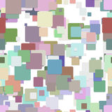 Seamless abstract square pattern background - vector graphic design from squares Stock Photo