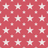 Seamless Abstract Stars Pattern Royalty Free Stock Image
