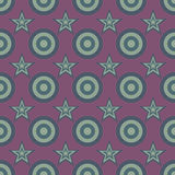 Seamless Abstract Stars Pattern Stock Photo