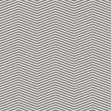 Seamless abstract striped background - embossed surface. Color gray - middle tone. 3D effect. Vector illustration Vector Illustration