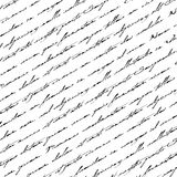 Seamless abstract text pattern. Royalty Free Stock Image
