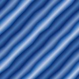Seamless wave pattern. Seamless abstract texture with blue 3d tubes Royalty Free Stock Photo