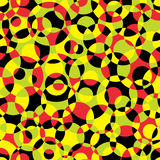 Seamless abstract texture with circles. Royalty Free Stock Photo