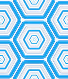Seamless abstract texture made of hexagons Stock Photos