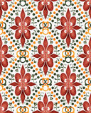 Seamless abstract texture pattern on white Stock Photos