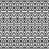 Seamless abstract tile background - triangles. The color  medium tone. 3D effect. Vector illustration Stock Photography