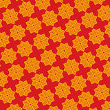 Seamless abstract traditional ethnic pattern Stock Image