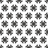 Seamless abstract  tribal cross texture Stock Photography