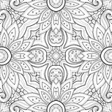 Seamless Abstract Tribal Pattern Stock Image