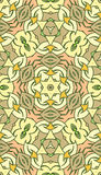 Seamless abstract tribal pattern. Hand drawn ethnic texture, vec Stock Images
