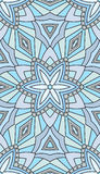 Seamless abstract tribal pattern. Hand drawn ethnic texture, vec Royalty Free Stock Photography