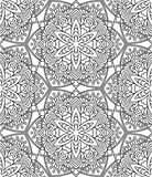 Seamless Abstract Tribal Pattern. Hand Drawn Ethnic Texture. Vec. Tor Illustration Royalty Free Stock Photography