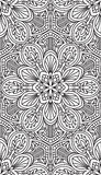 Seamless Abstract Tribal Pattern. Hand Drawn Ethnic Texture. Vec Royalty Free Stock Photos