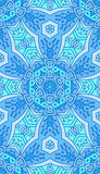 Seamless abstract tribal pattern. Hand drawn ethnic texture, vec Royalty Free Stock Photo