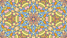 Seamless abstract tribal pattern. Hand drawn ethnic texture, vec Stock Photo