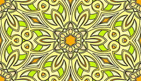 Seamless abstract tribal pattern. Hand drawn ethnic texture, vec Royalty Free Stock Images