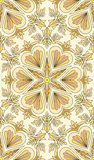 Seamless abstract tribal pattern. Hand drawn ethnic texture, vec Stock Photography