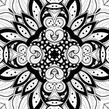 Seamless Abstract Tribal Pattern (Vector) Stock Image