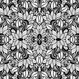 Seamless Abstract Tribal Pattern (Vector) Royalty Free Stock Photos