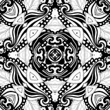 Seamless Abstract Tribal Pattern (Vector) Stock Photo
