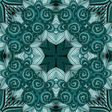 Seamless Abstract Tribal Pattern (Vector) Royalty Free Stock Image