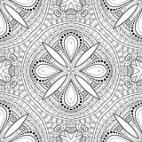 Seamless Abstract Tribal Pattern (Vector). Hand Drawn Ethnic Texture, Flight of Imagination Stock Photos