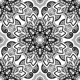 Seamless Abstract Tribal Pattern (Vector) Stock Photography