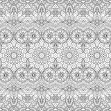 Seamless Abstract Tribal Pattern (Vector) Royalty Free Stock Photography