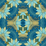 Seamless Abstract Tribal Pattern Vector Royalty Free Stock Images
