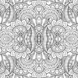Seamless Abstract Tribal Pattern Vector Stock Photography
