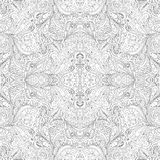 Seamless Abstract Tribal Pattern Vector Royalty Free Stock Photos