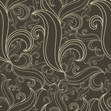 Seamless abstract twirl pattern Royalty Free Stock Photos