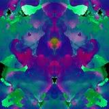Seamless abstract tye dye pattern. Royalty Free Stock Images