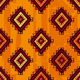 Seamless abstract vector ethnic pattern. Tribal vector design. S Stock Photo