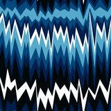 Seamless abstract pattern with zigzag lines stock illustration
