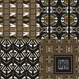Seamless abstract Vector pattern Ethnic tribal style Stock Image