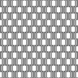 Seamless Abstract Vector Pattern. Geometric fine abstract vector background. Seamless modern pattern with black rectangulars Stock Photos