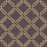 Seamless Abstract Vector Pattern With Hexagons Royalty Free Stock Photos