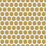 Seamless Abstract Vector Pattern With Hexagons Royalty Free Stock Photo