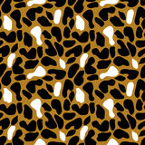 Seamless abstract vector pattern in retro style. Royalty Free Stock Photos