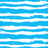 Seamless abstract vector pattern of waves Royalty Free Stock Photo