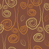 Seamless abstract vector retro background Royalty Free Stock Photo