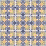 Seamless abstract vintage background colored mosaic symmetrical pattern. Seamless abstract vintage background colored of mosaic symmetrical pattern Royalty Free Stock Photo